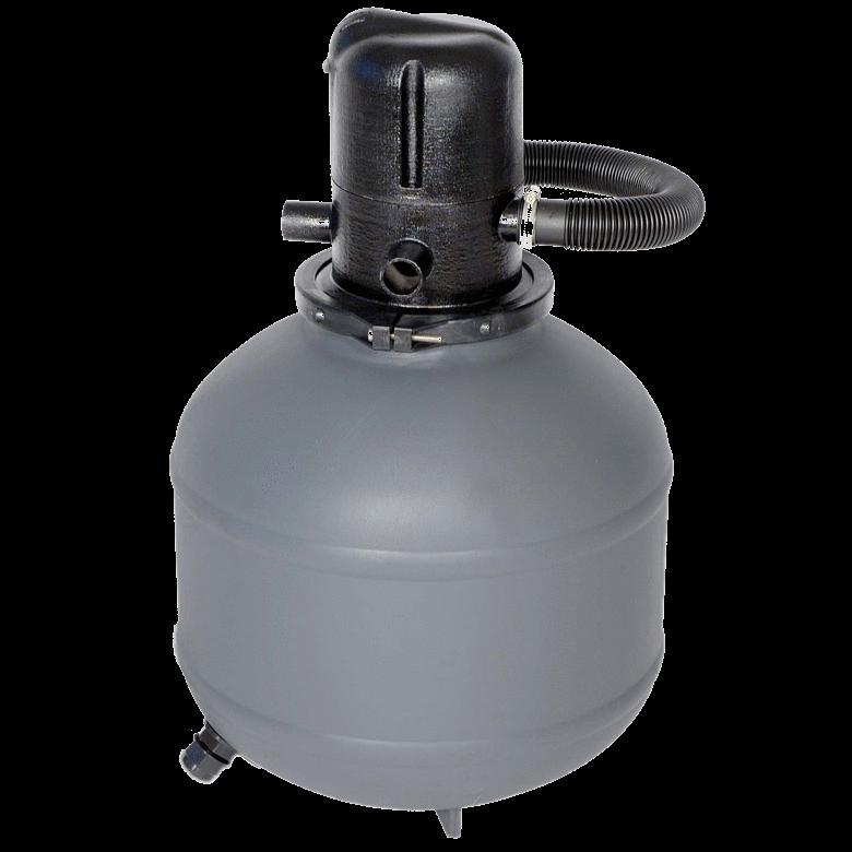 Kompaktiškas Smėlio Filtras su Cirkuliaciniu Siurbliu